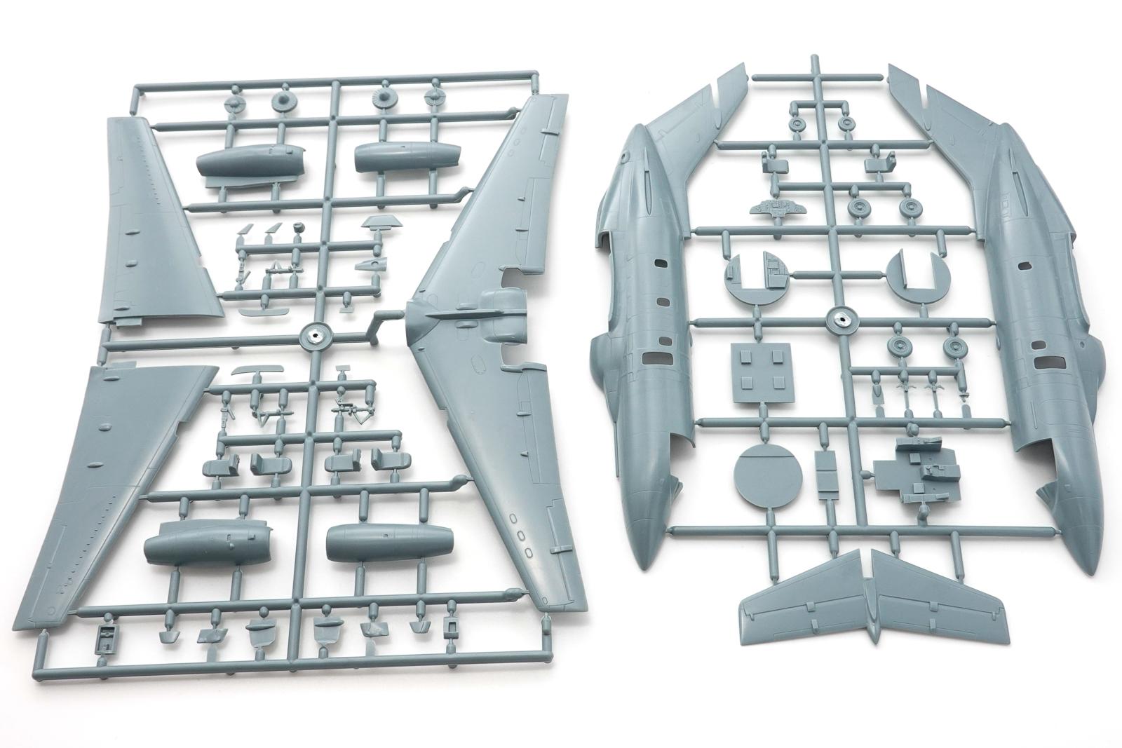 ソード 1/72 航空自衛隊 U-125 プラモデル パーツ