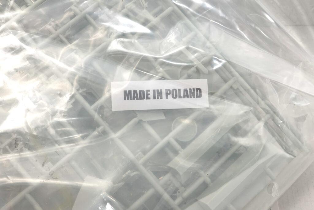 ポーランド製の表記