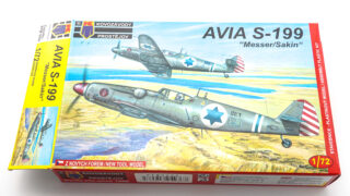 KPモデル 1/72 Avia S-199 プラモデル 箱絵