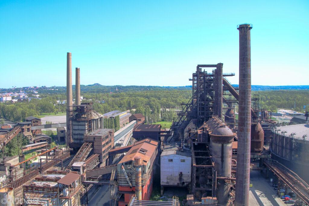 チェコ ドルニヴィートコヴィツェ 製鉄所